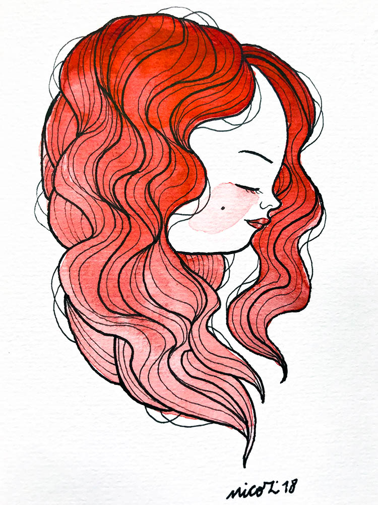 Watercolor girl 1_nicozbalboa