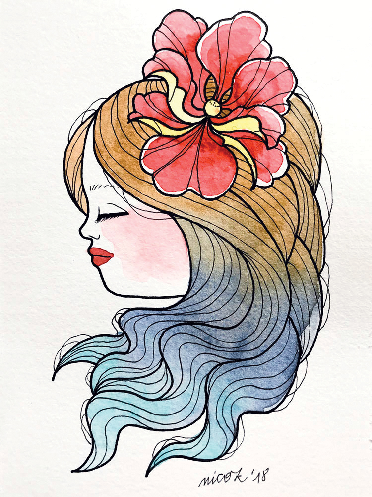 Watercolor girl 2_nicozbalboa-